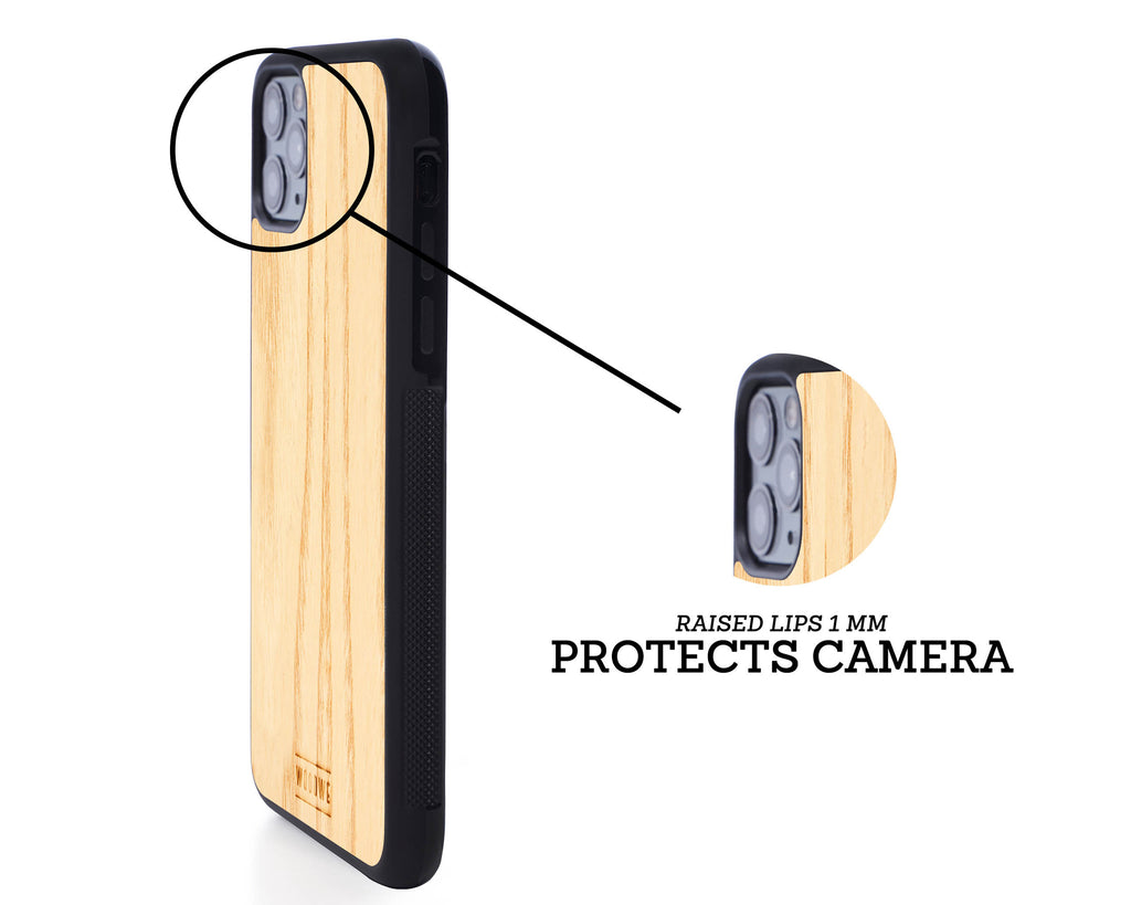 iphone case cover wood protection protective ash