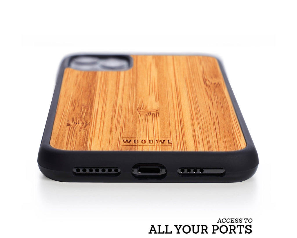 iphone case cover wood protection protective bamboo