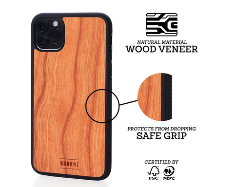 iphone case cover wood protection protective cherry
