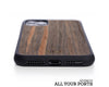 iphone case cover wood protection protective ebony