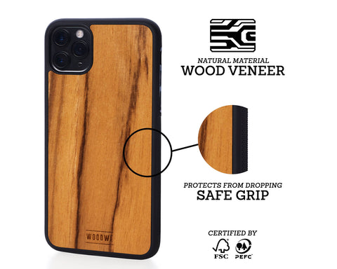 iphone case cover wood protection protective teak