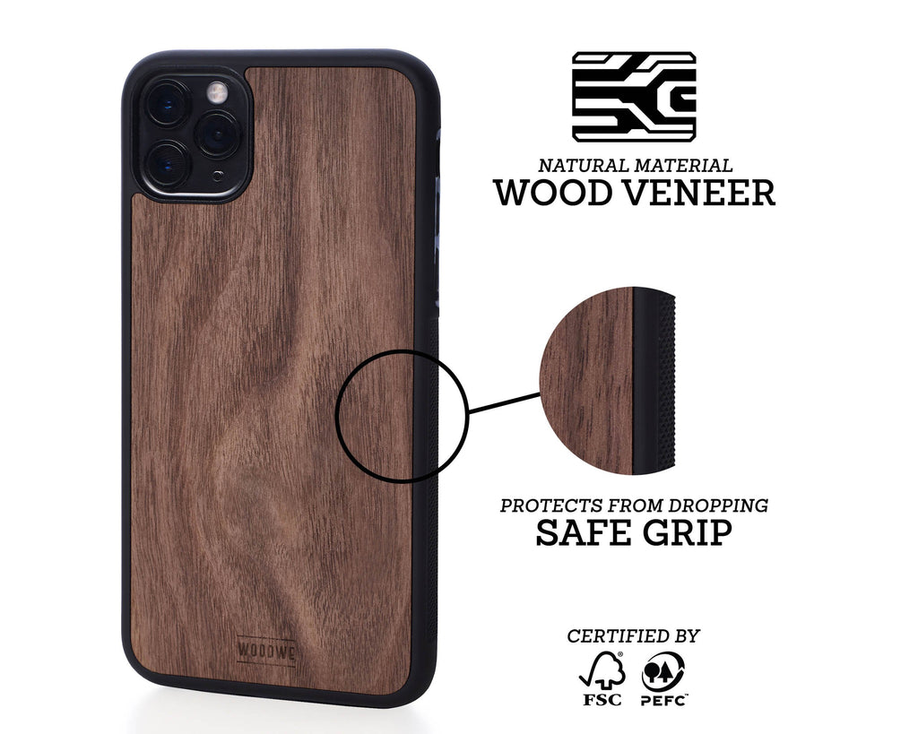iphone case cover wood protection protective collections earthday walnut saves us