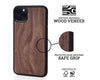 iphone case cover wood protection protective walnut