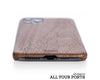 iphone case cover wood protection protective walnut hardcase