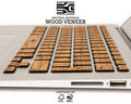 Macbook Wood Keyboard Skin - Light Teak