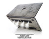 MACBOOK PROTECTIVE CASE - Made of Real Stone - Silver Grey