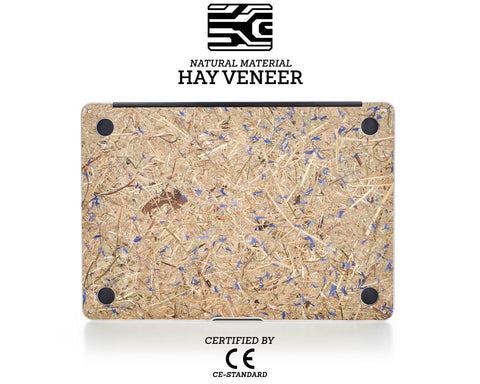 Macbook Hay Cover - Kornblume