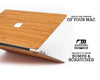 Macbook Wood Case - Bamboo