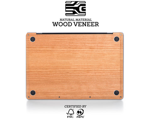 Macbook Wood Case - Cherry