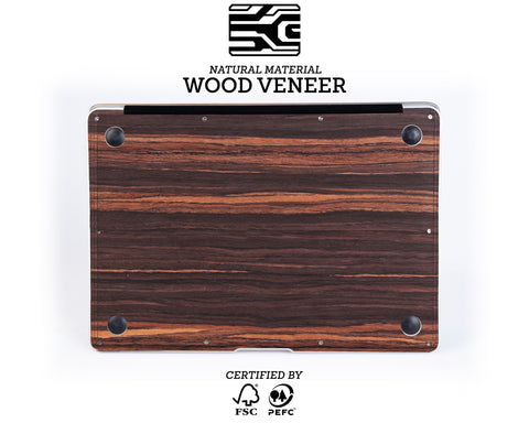 Macbook Wood Case - Ebony