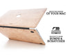 Macbook Wood Case - Elm Burl