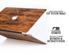 Macbook Wood Case - Imbuia