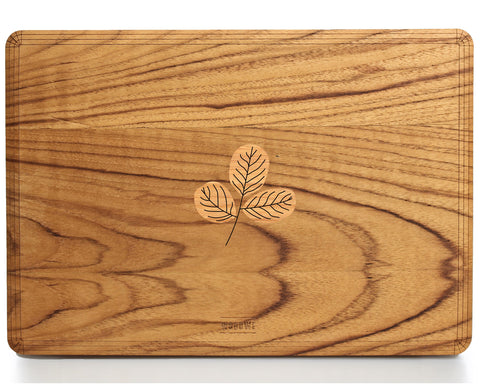 Teak Branch – Story of Health - Macbook Wood Cover