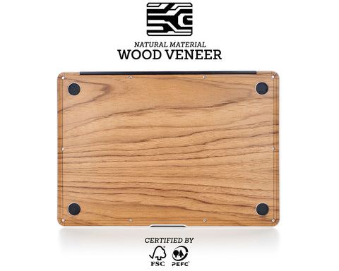 Macbook Wood Case - Teak
