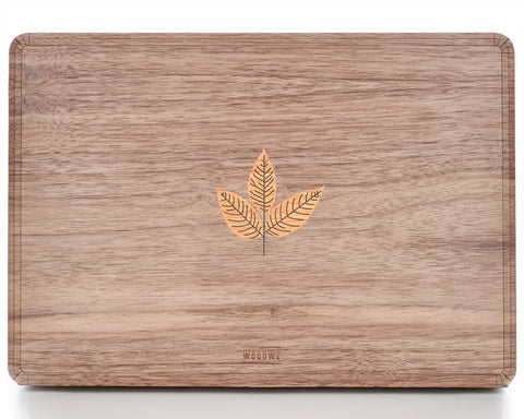 Walnut Branch – Story of Wisdom - Macbook Wood Cover