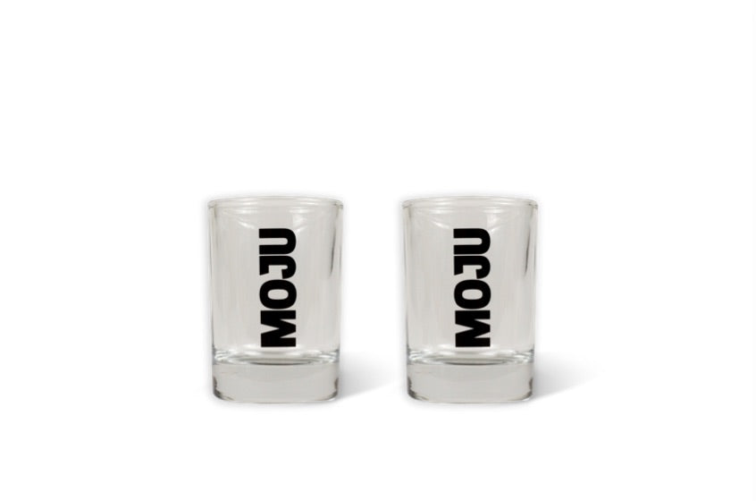 60ml SHOT GLASS x2