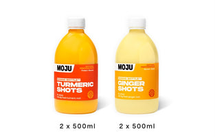 Recover Pack (2 x Ginger Dosing Bottle; 2 x Turmeric Dosing Bottle)