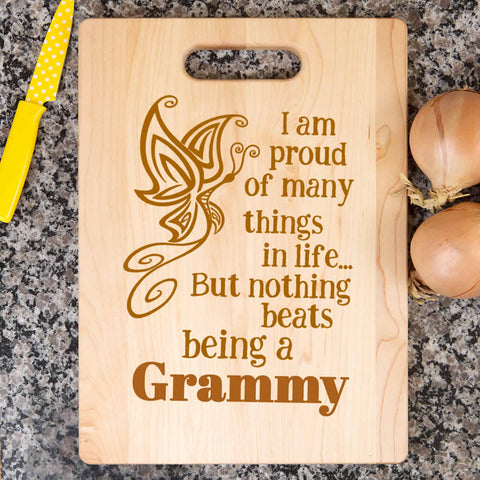 Proud of many things- Cutting Board - Bamboo
