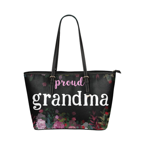 Proud Grammie Black Bag