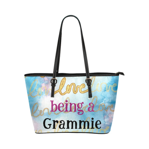 Love Being Grandma Tote BLK