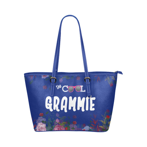 The Cool Grandma Tote Bags Blue