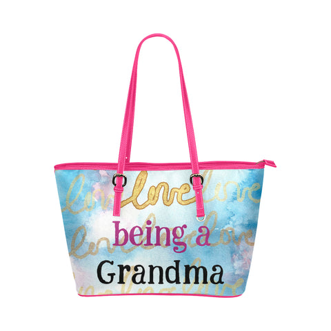 Proud being Grandma tote HEL