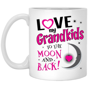 11oz_White Mug -Love moon back