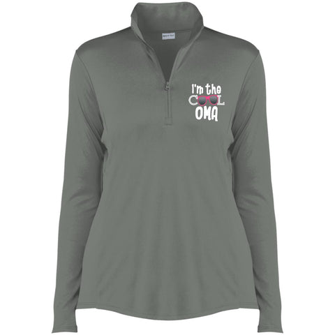 I'm The Cool OMA 1/4-Zip Pullover