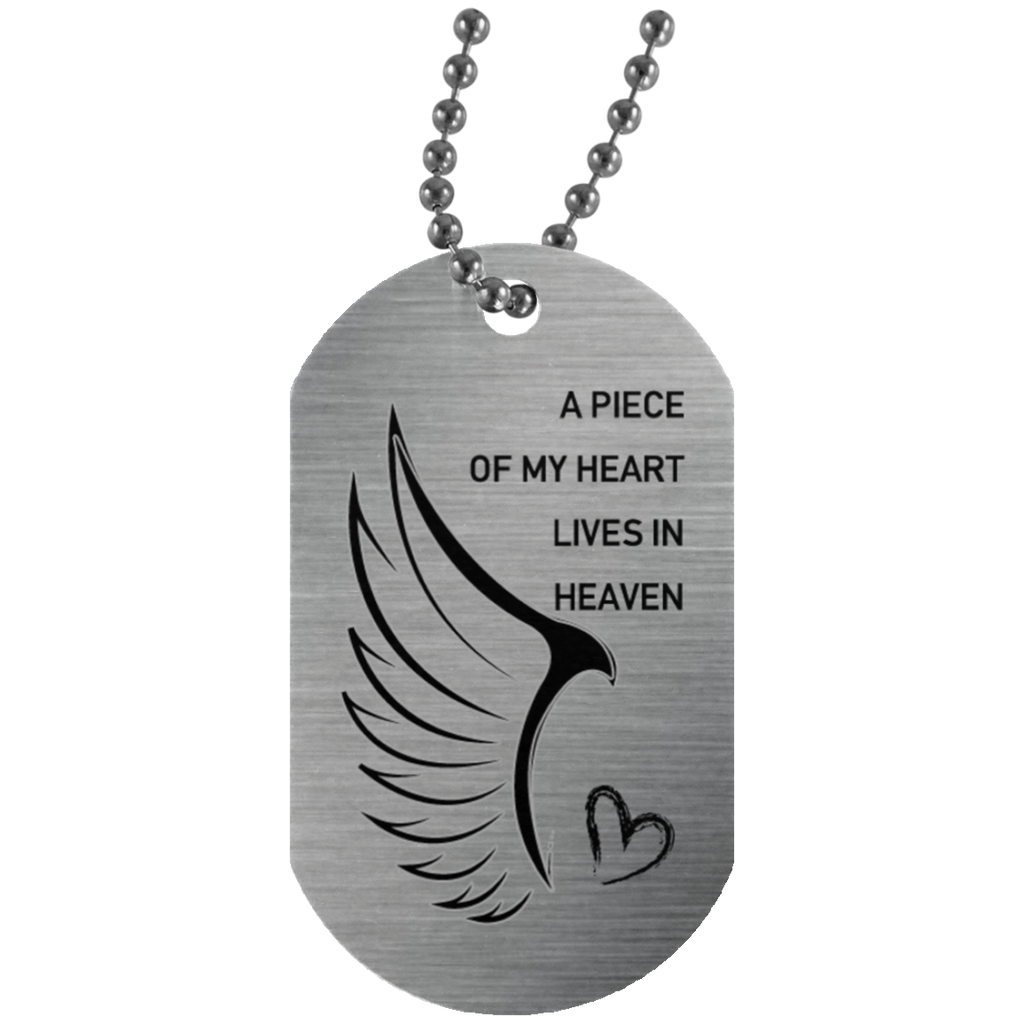 A piece of my heart-Silver Tag