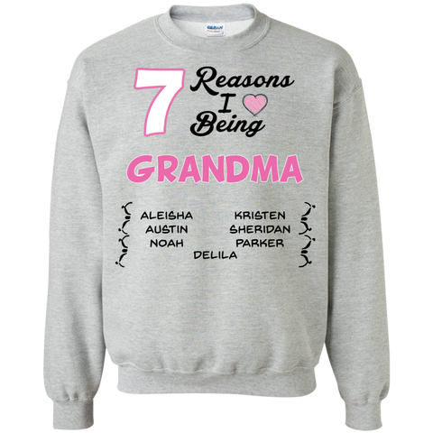 (Customize) Reasons I Love Being A Grandma