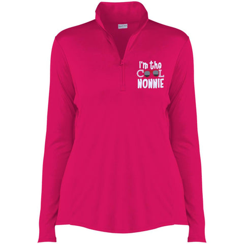 I'm The Cool Nonnie 1/4-Zip Pullover