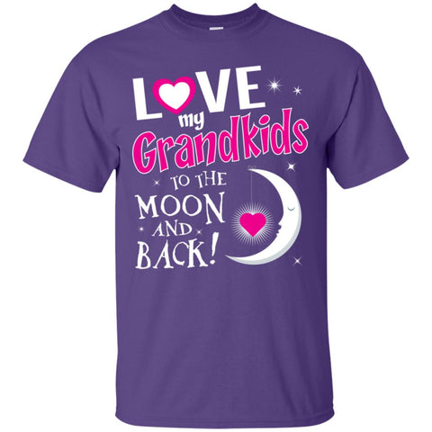 Image of I Love My Grandkids To The Moon And Back -Blk