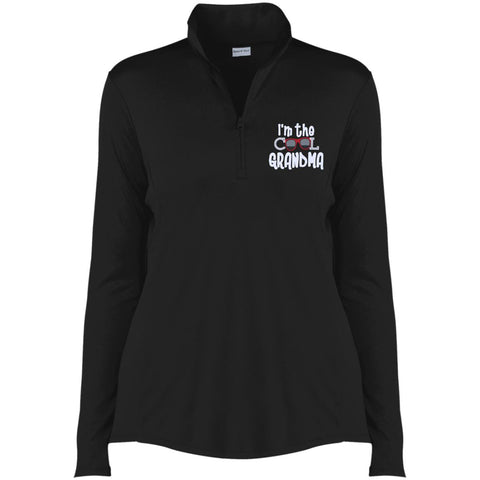 I'm The Cool Grandma 1/4-Zip Pullover