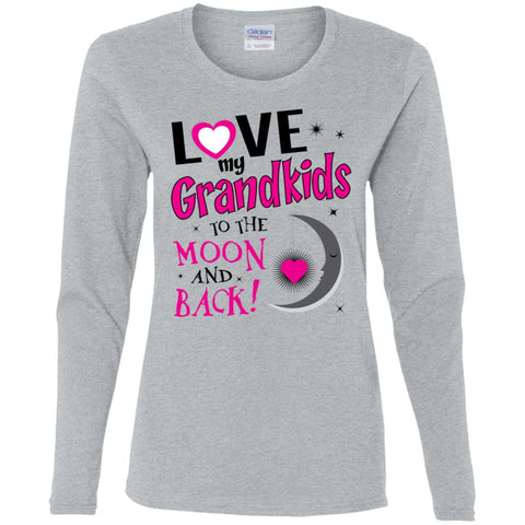 Image of Love my Grandkids to the moon back -LS