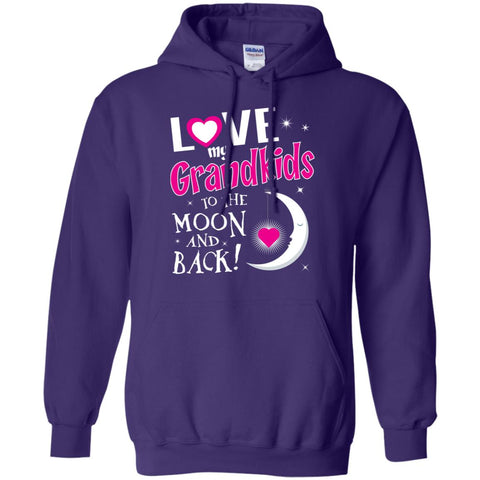 I Love My Grandkids To The Moon And Back -Blk