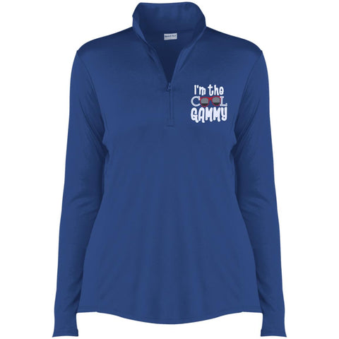 I'm The Cool Gammy -1/4-Zip Pullover