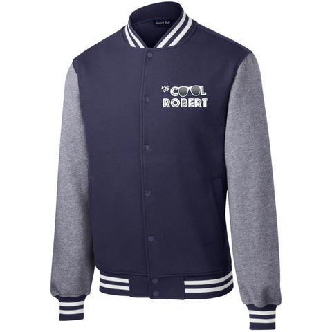 Image of The Cool Robert- Fleece Letterman Jacket