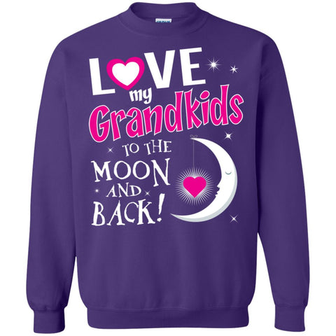 I Love My Grandkids To The Moon And Back -Pur