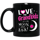 Image of 11oz_White Mug -Love moon back