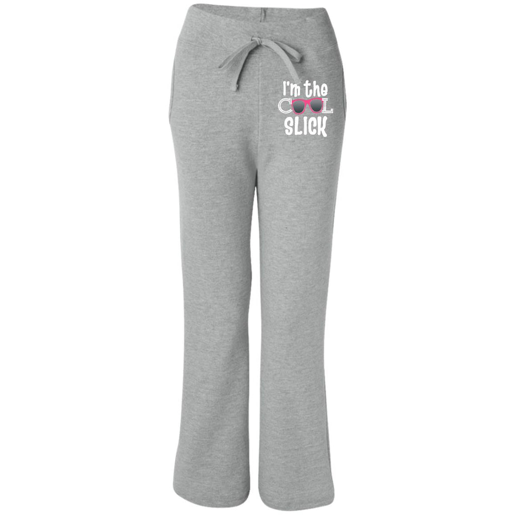 30904 Open Bottom Sweatpants with Pockets