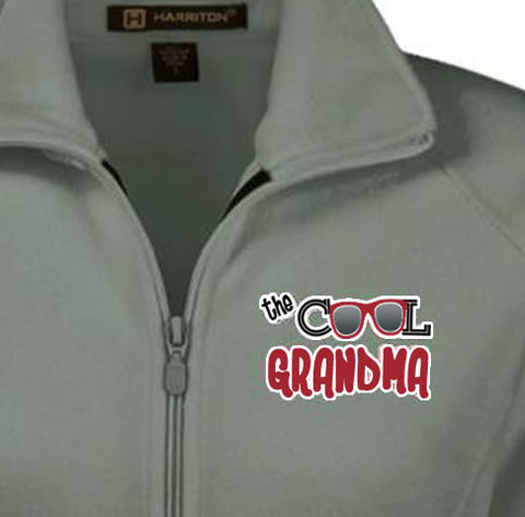 The Cool Grandma- Fleece Jacket 18