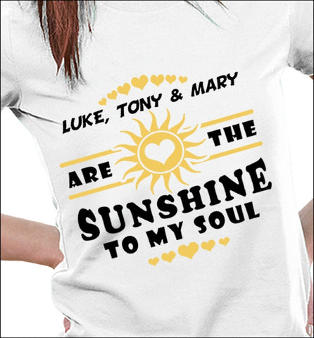 Apparel - [Customizable] Sunshine To My Soul