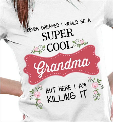 Apparel - Super Cool Grandma Std
