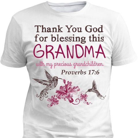 Apparel - Thank You God- Customize W