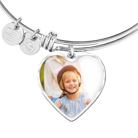 Image of Heart Necklace -Upload your Picture