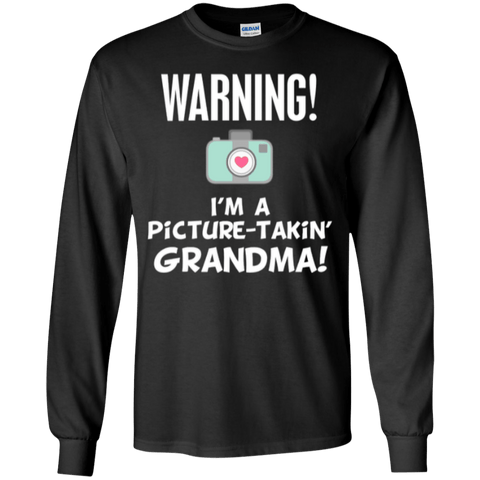 Featured Products - Attention Grandma LS Ultra Cotton Tshirt