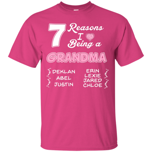 (Customize) Reasons I Love Being A Grandma Hoodie