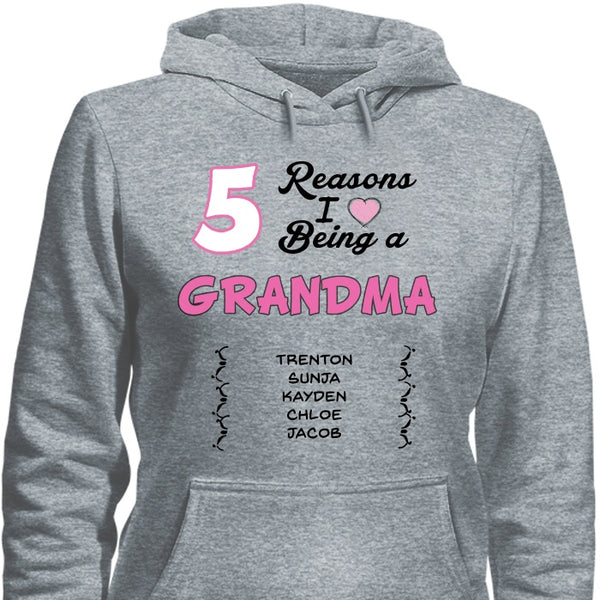 Hoodies - 7 Reasons I Love Pullover Hoodie 8 Oz