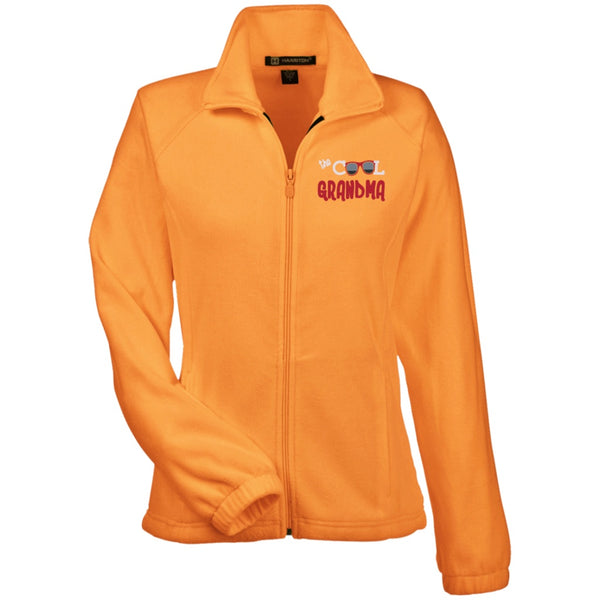 Jackets - [Customizable] The Cool Grandma -Womens Fleece Jacket