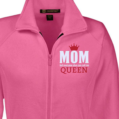 Jackets - Mom Queen Fleece Jacket